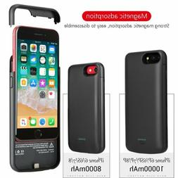 10000mAh Battery Case Power Bank Charging Charger Cover For