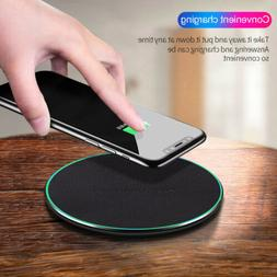 10W Qi Wireless Charger Charging Pad Mat For Samsung S10 S9