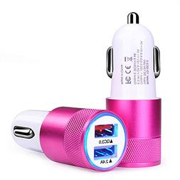 Sicodo 2.4A Dual USB Car Charger Quick Charge 3.0 Car Charge