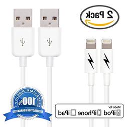 Certified iPhone 5 & 6 Charging Cable Lightning Cord - Auth
