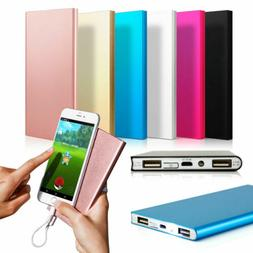 20000mAh Dual USB Portable Charger Power Bank External Batte