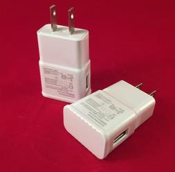 2AMP Cell Phone USB Wall Charger for SAMSUNG GALAXY S4 S5 S6