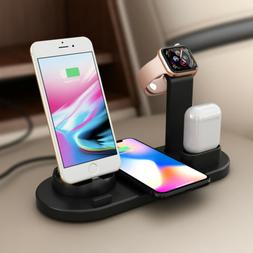 3 in1 Charging Dock Charger Stand For Apple Watch Series/Air