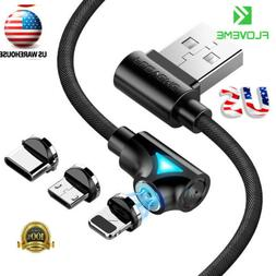 FLOVEME 3A Magnetic Lightning Charging Charger Phone Cable F