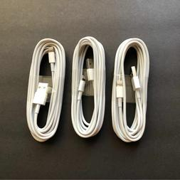 3X 10ft USB Charger Cable Data Cord for iPhone 5 iPhone 6 6s