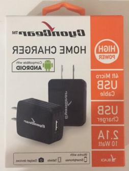 4 Ft Micro USB including Wall Charger For Android Samsung Ph
