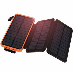 900000mAh Solar Panel External Battery Charger Power Bank Fo