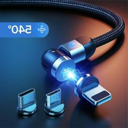 GETIHU 540 Magnetic Cable Micro USB Type C Fast Charging Pho
