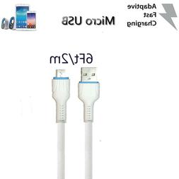 10Ft/3m Micro USB Charger Fast Charging Cable Cord For Samsu