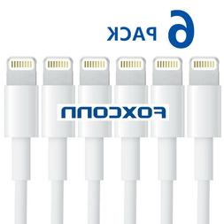 6X USB Lightning Charger & Data Sync Cable Lead For  i Phone