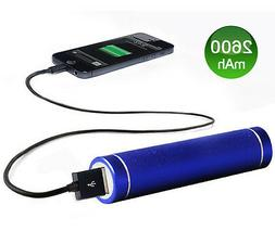 Dark Blue Portable USB External Cell Phone Charger Power Ban
