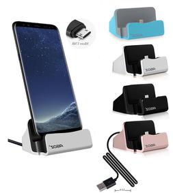 Fast Charger Dock Cell Phone Holder Stand For Samsung Galaxy