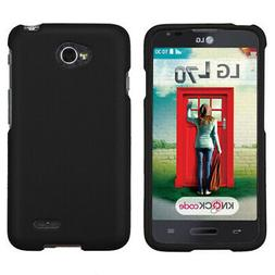 For VS450PP Optimus Exceed 2, MS323 L70 Black Phone Protecto