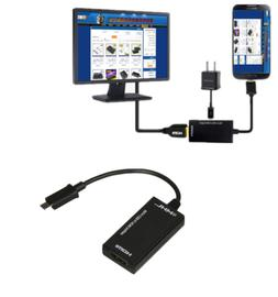 Micro USB to HDMI TV Out HDTV MHL Adapter Cable for Phone or