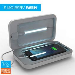 PhoneSoap 3 UV Cell Phone Sanitizer and Dual Universal Cell