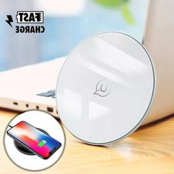 Qi Fast Wireless Charger Charging Pad for iPhone XS/Max/XR/X