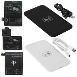 Qi Wireless Charger Pad & Receiver Kit for Samsung Galaxy S3