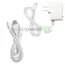 Wall Charger+USB 10FT Cable for Android Phone Samsung Galaxy