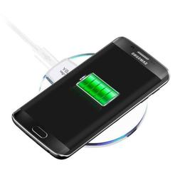 Wireless Charger Qi for Samsung Galaxy S6 7 8 iPhone 8 X Cel