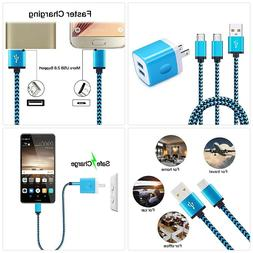 Android Phone Charger Kit, Ououdee 2.1A Dual USB Wall Charge