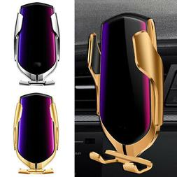 Car Mount Phone Wireless Charger Holder Automatic Clamping S
