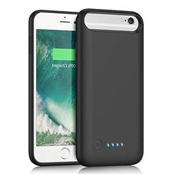 Battery Case for iPhone 6s/6 6000mAh, iPosible Upgraded Port