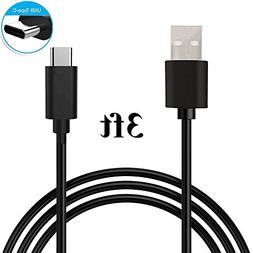 Type C Cable, Asstar USB Type C to Type A Charging Cable for