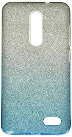 Asmyna Cell Phone Case for ZTE Zmax Pro - Blue Gradient Glit