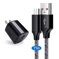 Charger Plug, USB Charger Block, Cebkit 2.1A 5V Travel Wall