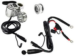EKLIPES EK1-110 Cobra Chrome Ultimate Motorcycle USB Chargin