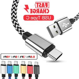 Fast Charge Type C Cable 6FT 10FT For Samsung A51 A71 A20 M3