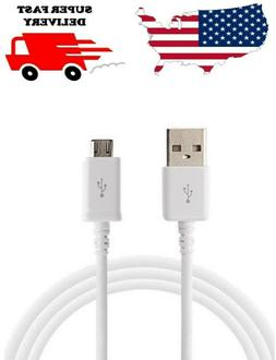 Fast Charging Cable 6.6ft Phone Charger Data Micro USB for S
