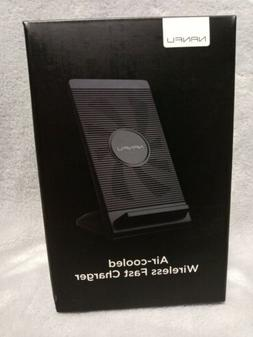 fast wireless charging stand with cooling fan