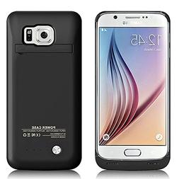 Galaxy S6 Edge Battery Case, 4200 mAh Slim Portable Recharge