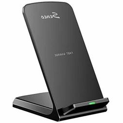 Seneo iPhone X Wireless Charger, 10W Fast Wireless Charger C