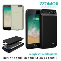 For iPhone 6 6s 6 Plus 7 External Battery Charging Case Powe