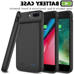 For iPhone 6 6s 7 8 Plus Battery Phone Case Charger External