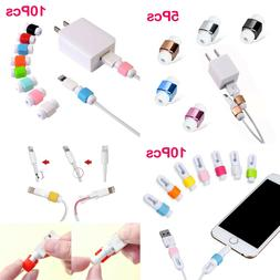 Iphone 6s Phone Charger Saver 8 Pcs X Protector Cable 7 USB