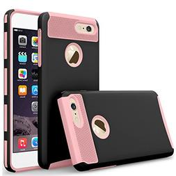 iBarbe iPhone 7 Case,iPhone 8 Case, Slim Fit Shell Rubber Ha