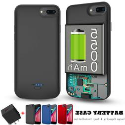 For iPhone 8 7 6s Plus Battery Phone Case Charger External B
