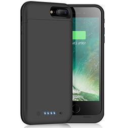 Battery Case for iPhone 8 Plus/7 Plus,7000mAh Portable Charg