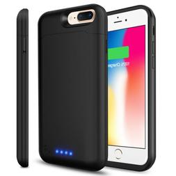For iPhone 8 plus phone Ultre Slim Power Bank battery Charge