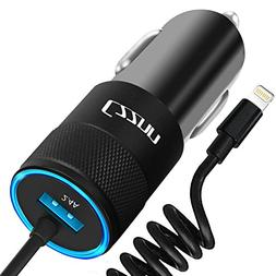 Car Charger, Czznn 4.8A Rapid USB Car Charger with Fast Char