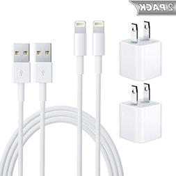 iPhone Charger, MFi Certified Lightning Cable, 2 Sets iPhone