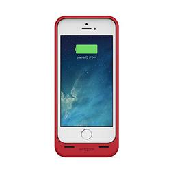 mophie juice pack Plus for iPhone 5/5s/5se  - Red