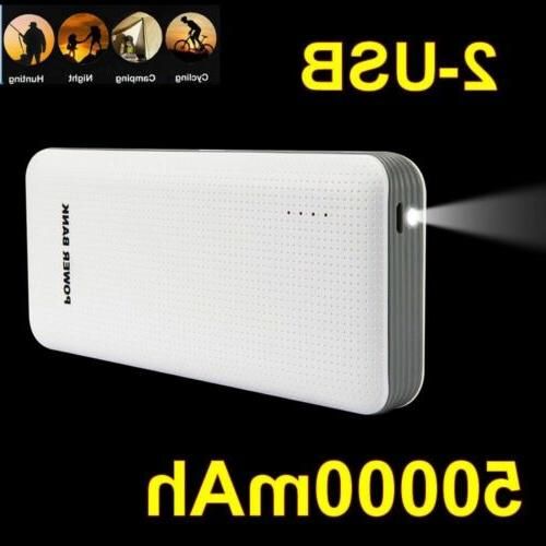 100000mAh Power Battery Pack Charger Phone