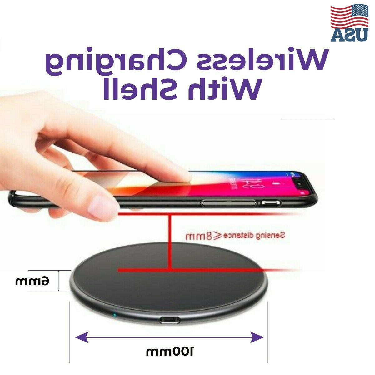 10W Qi Wireless Charger for cell Phone Samsung Android
