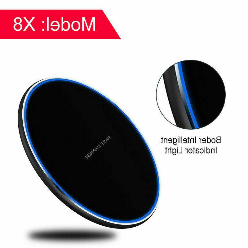 10W Qi Wireless Charger Charging Pad Dock for cell Android