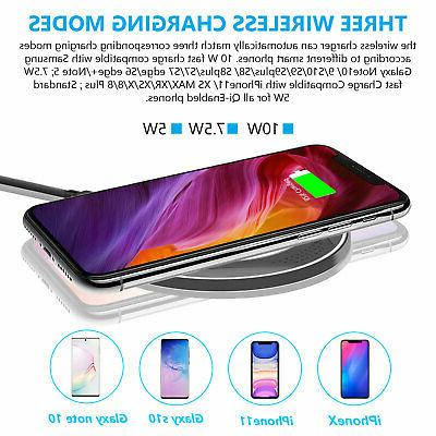 10W Ultra strong Fast Qi Wireless for X Samsung