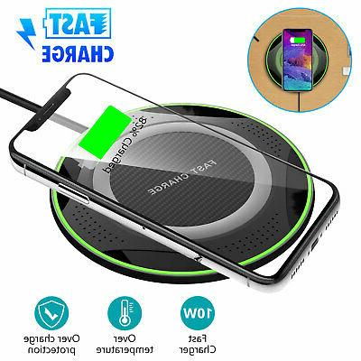 10w ultra strong fast qi wireless charger